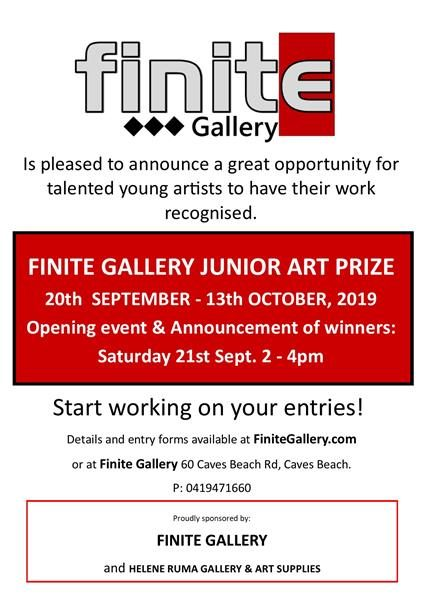 Finite Gallery - Fine Arts and Crafts in Caves Beach since 2013